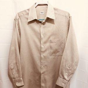 Armani Collezoni Men's Lg Sleeve Shirt, Italy,